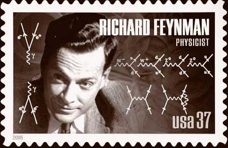 feynman-stamp