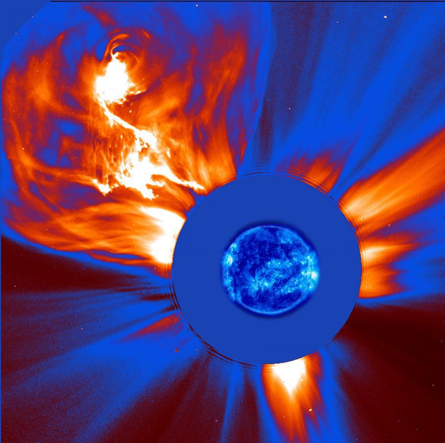 colorized-coronal-ejections