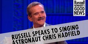 Ο Κομάντερ Της Καρδιάς Μας, Κρις Χάντφιλντ, Σε Κωμική Τηλεοπτική Εκπομπή