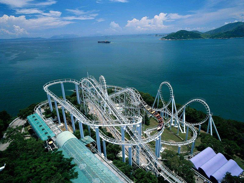 Hong-KOng-Roller-Coaster-Ride