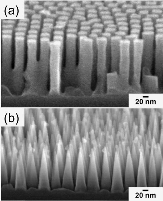 hydrophobic-nanocones