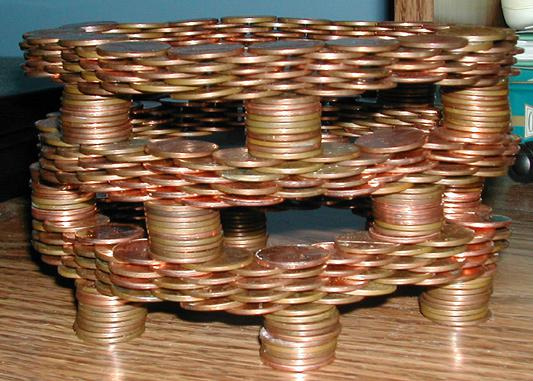 coin-stacking